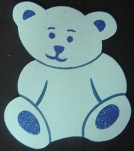 teddy-polystyrene-30cm-blue