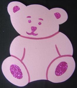 teddy-polystyrene-30cm-pink