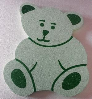 teddy-polystyrene-30cm-green