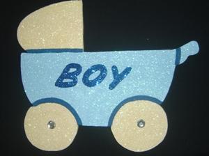 baby-pram-poly-30cm-boy-blue
