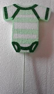 baby-vest-on-stick-poly-15cm-green