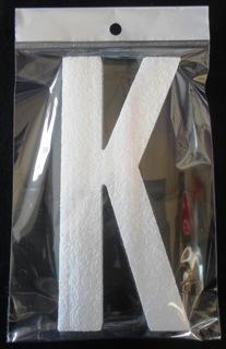 letter-polystyrene-10cm-plain-k-