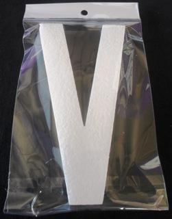 letter-polystyrene-20cm-plain-v