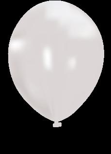 metallic-white